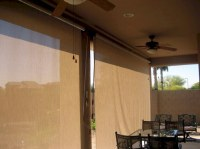 Roll Down Patio Shades Photo Gallery | AAA Sun Control ...
