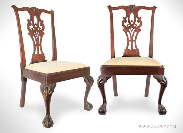 Antique Furniture Chairs Early Pilgrim American