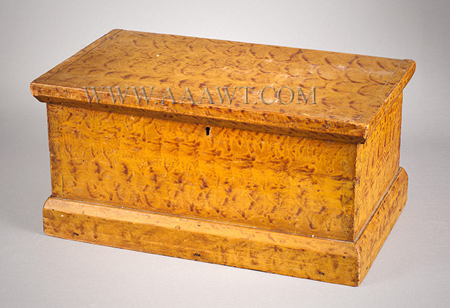 Antique Painted Decorated Boxes Painted Storage Boxes