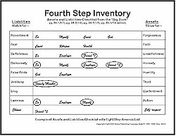 aa 4th step worksheet excel worksheets kristawiltbank free printable worksheets and activities. Black Bedroom Furniture Sets. Home Design Ideas