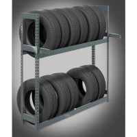 Tire Storage Racks  Seismic  A&A Boltless Rack and Shelving
