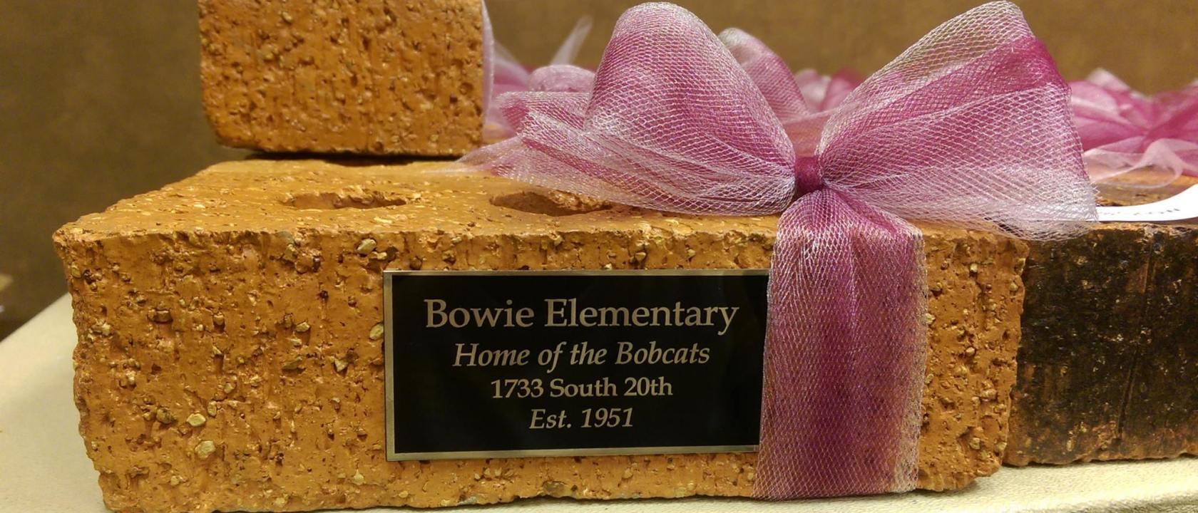 Bowie Bricks