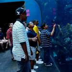 AAGF Students at Aquarium