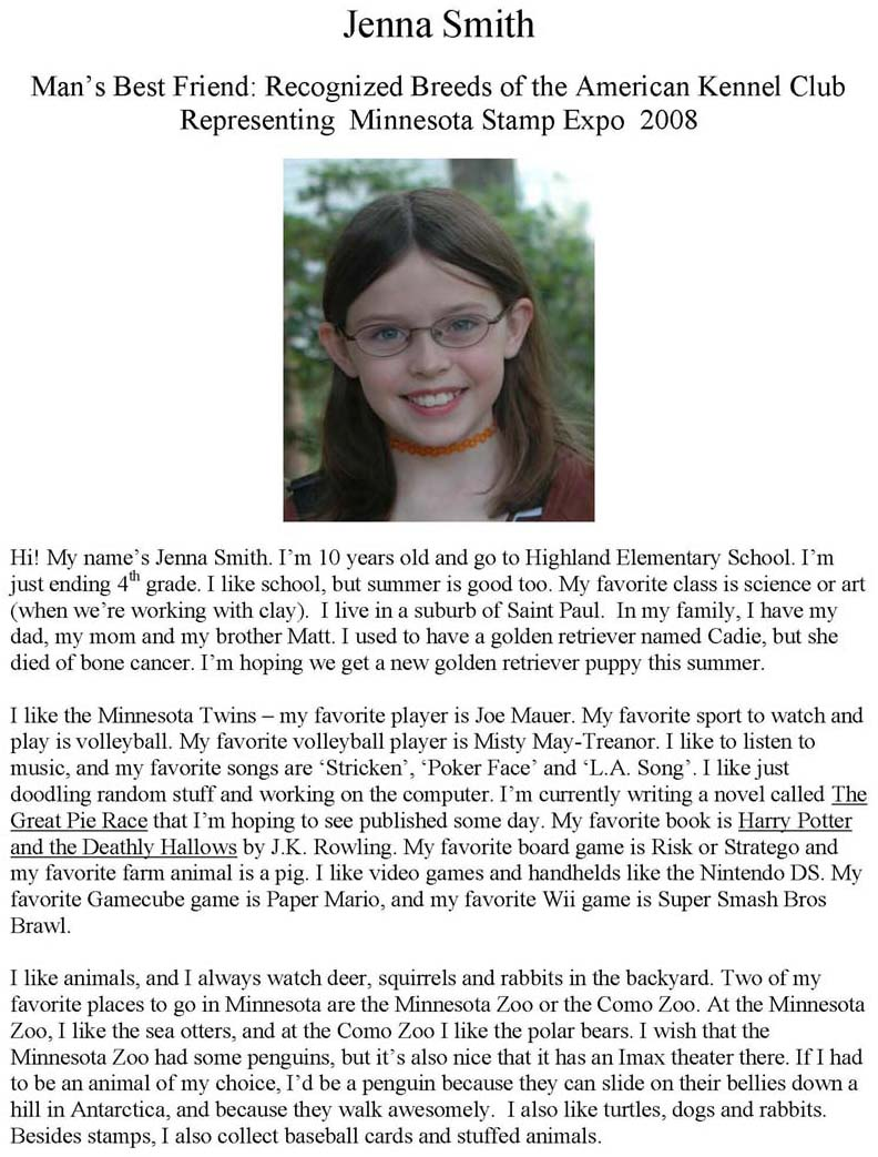 Biography essay on my daughter