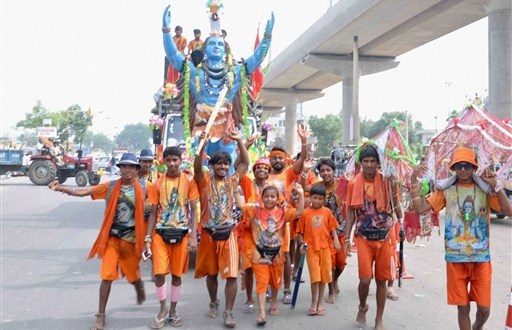 Dozen schools, colleges in UP asked to close due to KanwarYatra
