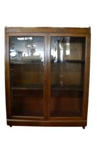 Antique Oak Curio Cabinet | Antique Furniture