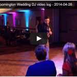 Video Log – Best Western Bloomington Wedding DJ