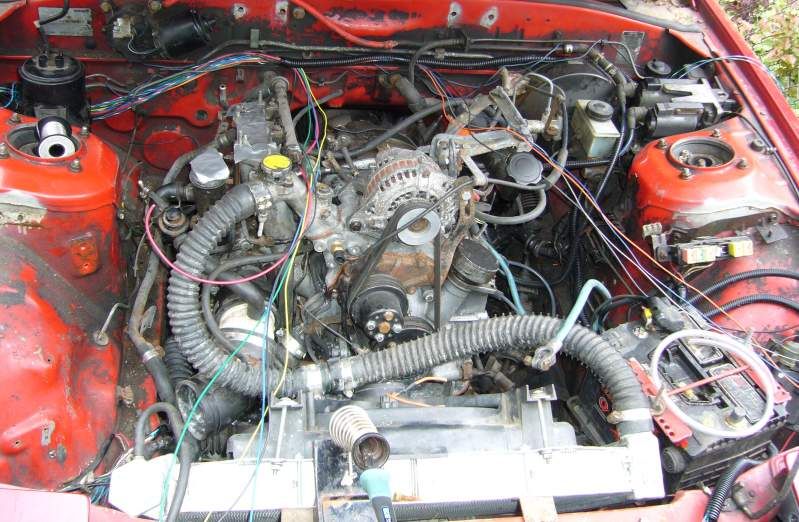 How To Megasquirt Your 2nd Gen RX-7 Wire The Megasquirt MS1/MS2
