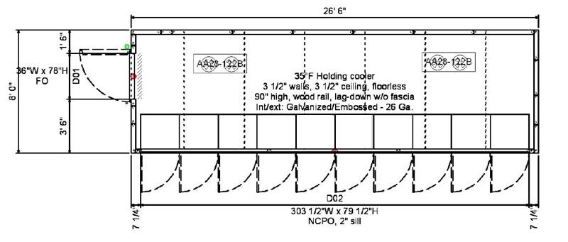 walk in 3 phase wiring diagram