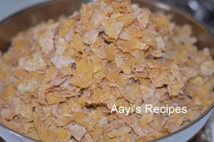 corn flakes chivda5