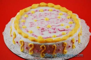 Pineapple cake(Eggless)