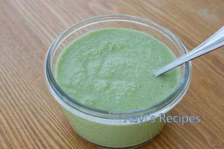 green chutney with lemon