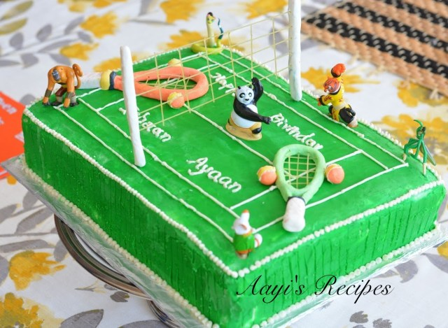 Kung fu paanda-tennis cake3