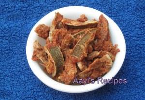 Sundried Bitter Oranges (Narnga Batte / Kanchi Batte)