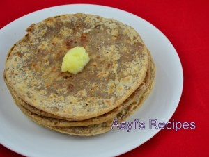 Sweet Flatbread with Peanuts (Shenga Holige / Shenga Poli)