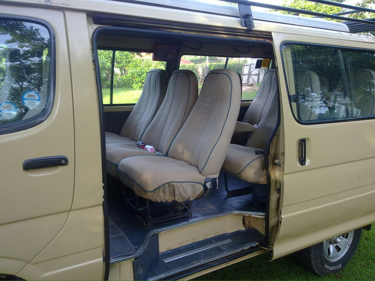 Seats for a 9 Seat Safari Van