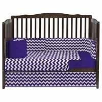 Chevron Crib Bedding Set Crib Bedding for Girls - aBaby.com