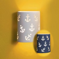 Anchors Away Ceramic Wall Sconce Wall Sconces - aBaby.com