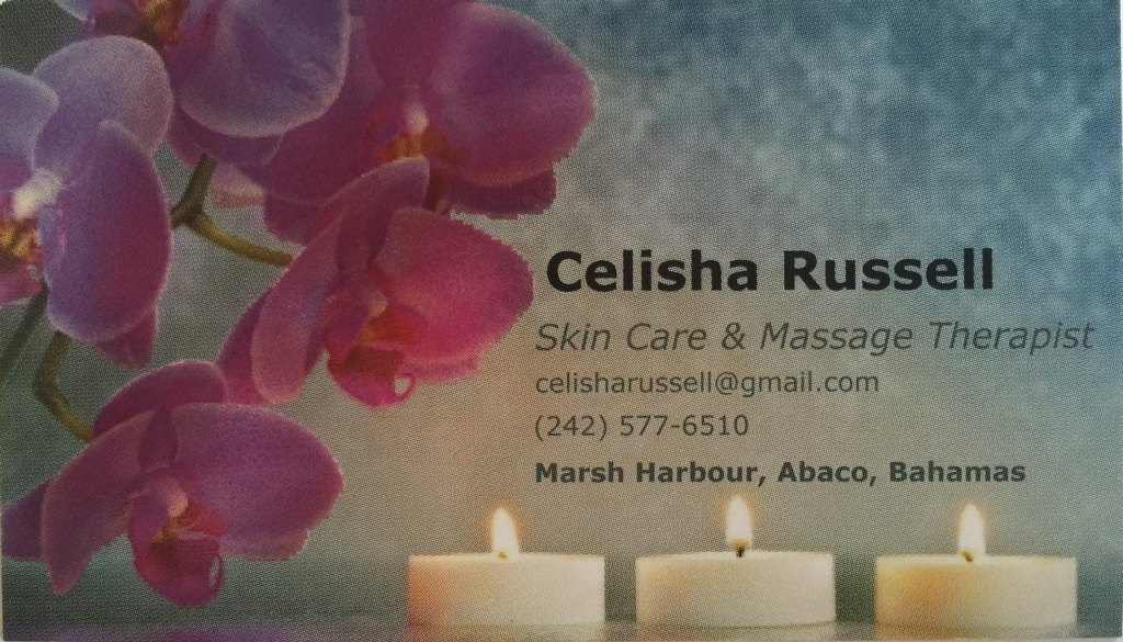 Celisha's Business Card Cropped