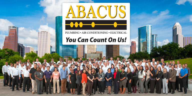 Abacus Plumbing Air Conditioning Electrician 713 766 3833