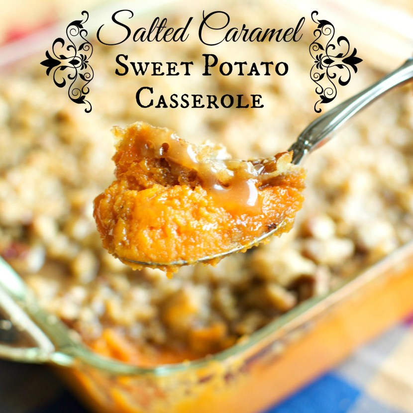 Salted Sweet Potato Casserole | A baJillian Recipes