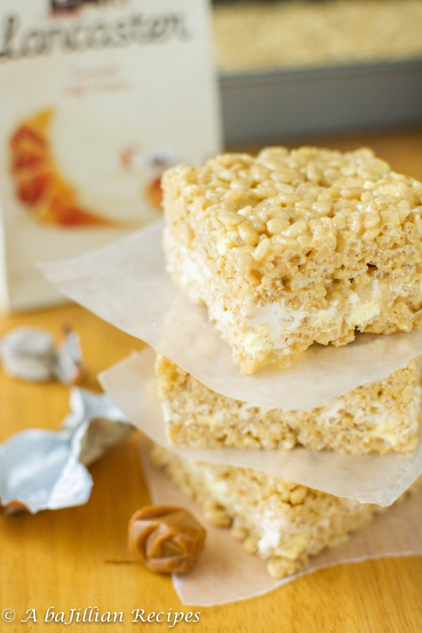 Brown Butter Caramel Rice Krispies Treats | A baJillian Recipes