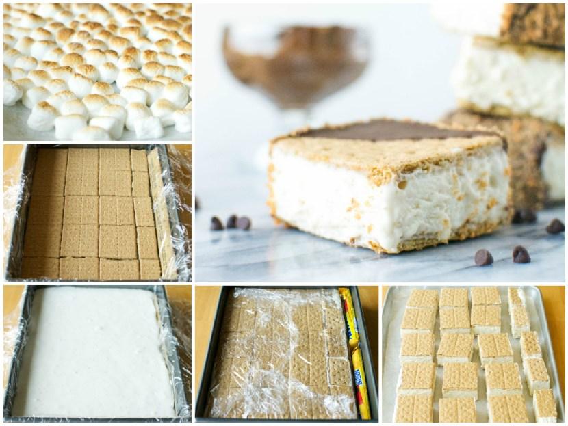 S'more Ice Cream Sandwich | A baJillian Recipes