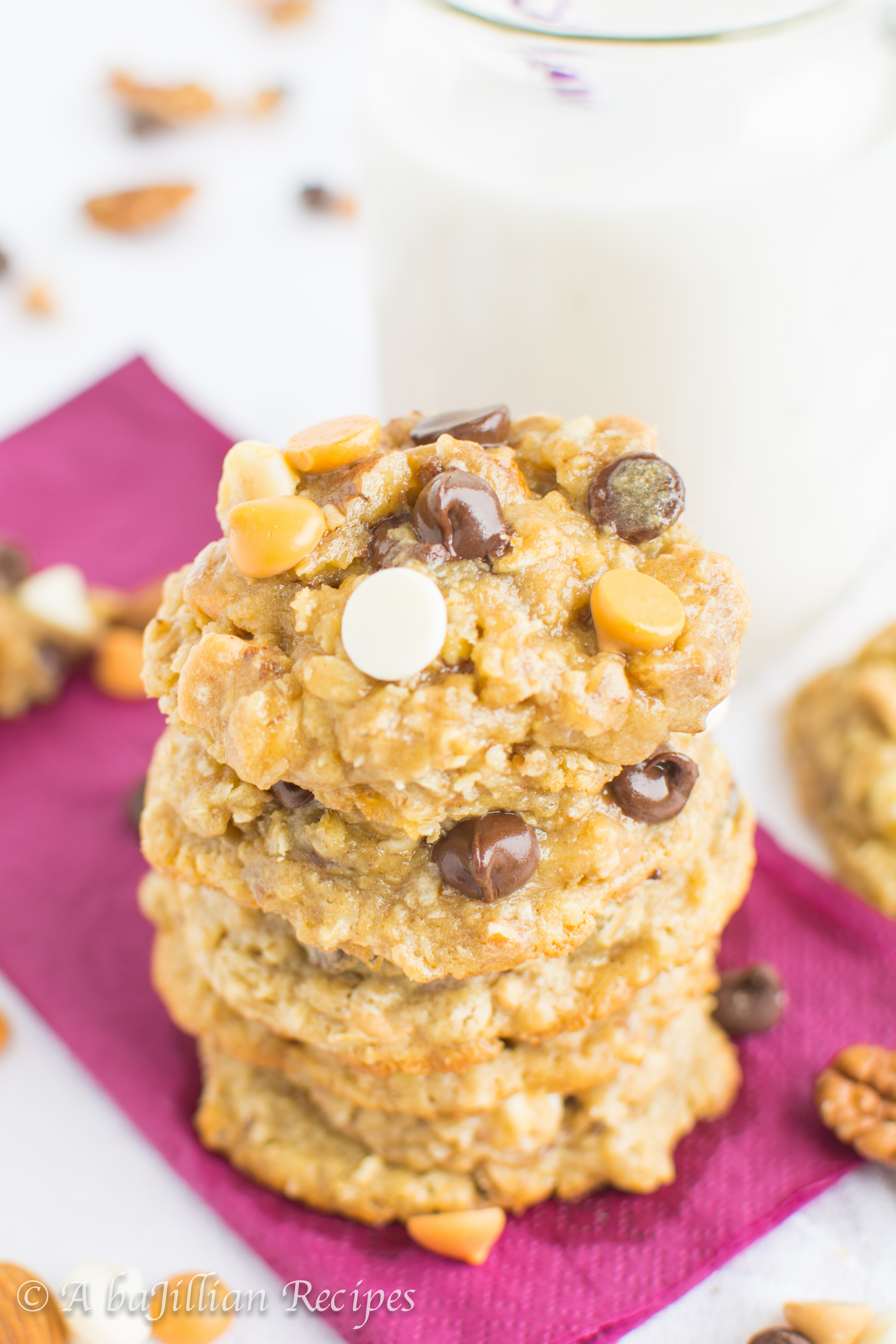 kitchen sink cookies kitchen sink cookies Unlike some oatmeal cookies which tend to be dried out flat or overly crispy these cookies are soft thick perfectly chewy and ultra flavorful