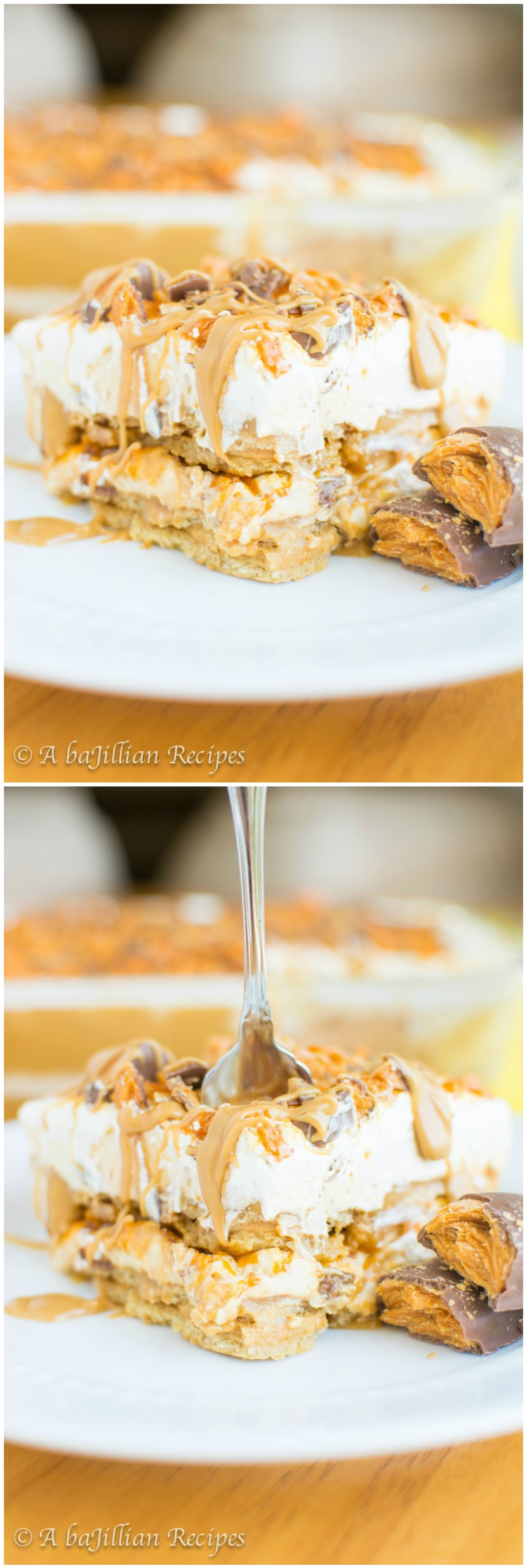 Butterfinger Dessert Lasagna | A baJillian Recipes