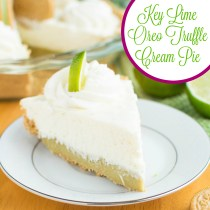 Key Lime Oreo Truffle Pie | A baJillian Recipes