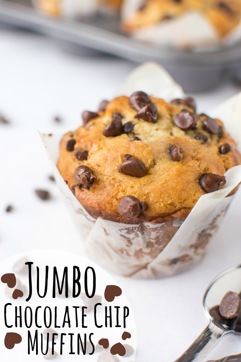 Jumbo-Chocolate-Chip-Muffins-abajillianrecipes-1(title)