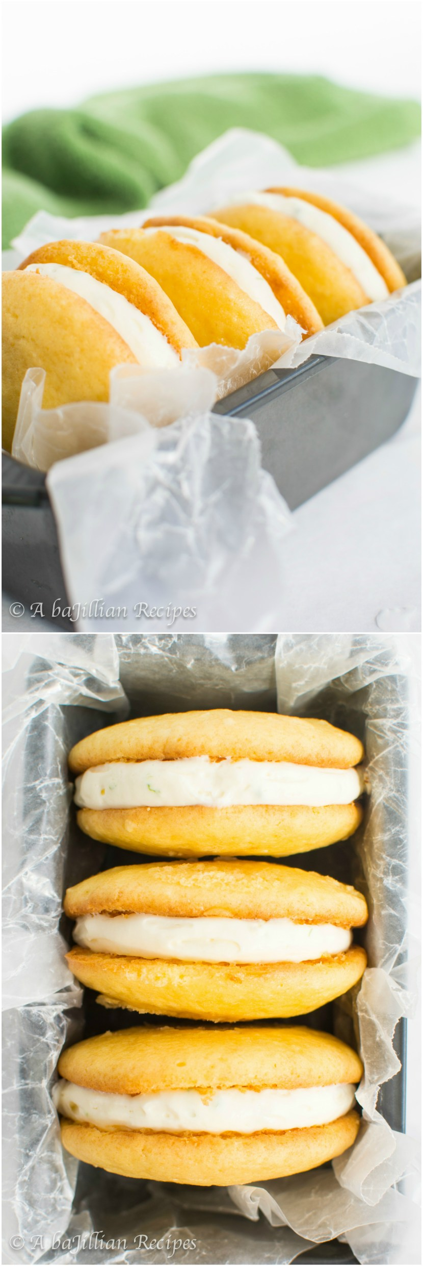 Coconut Lime Whoopie Pies | A baJillian Recipes3