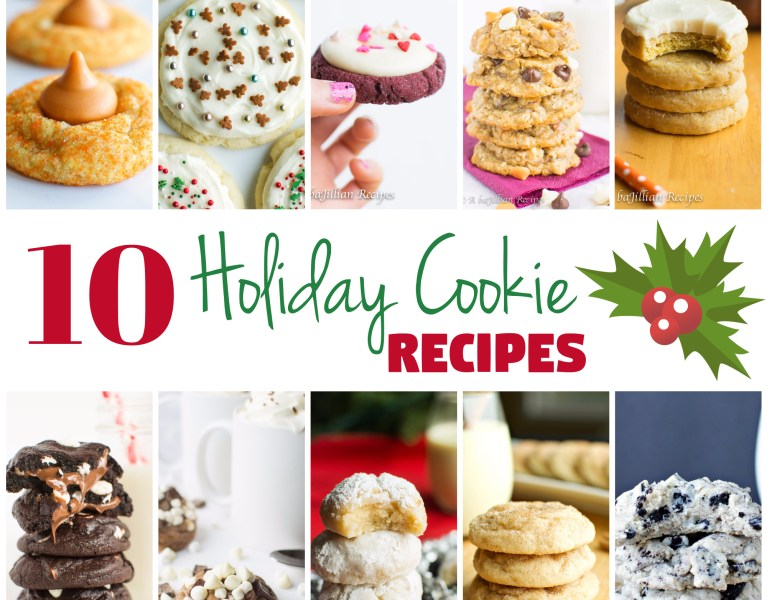 Holiday Cookie Round-Up | A baJillian Recipes