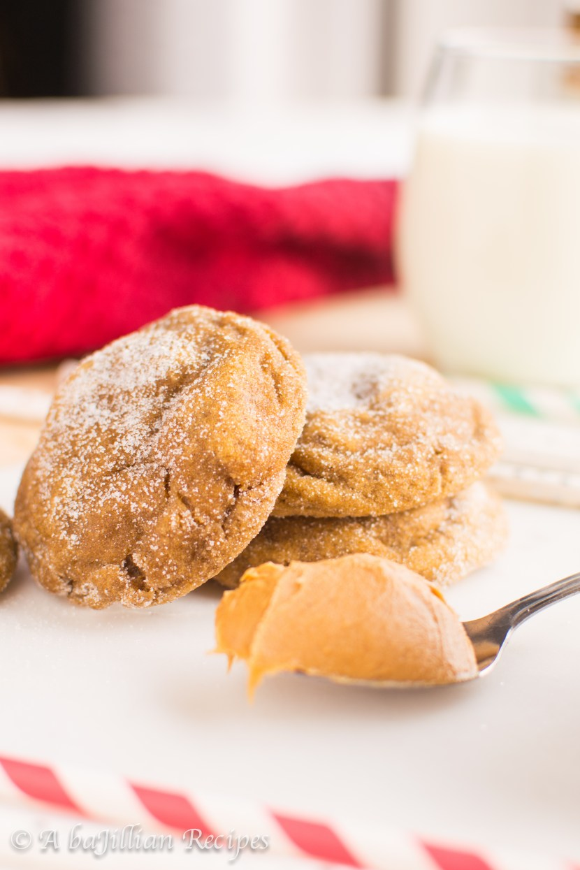 Cookie Butter Ginger Cookies   A baJillian Recipes-6