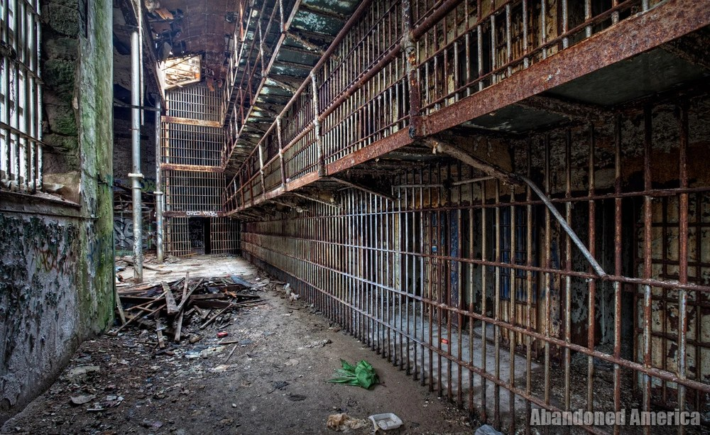 The Old Essex County Prison Newark Nj Abandoned America