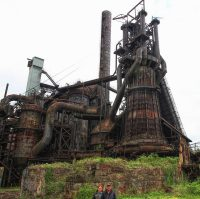 The Carrie Furnaces: Inside and around the last surviving ...
