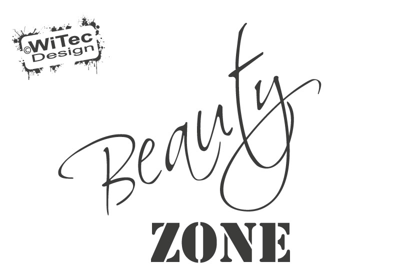 Türaufkleber BEAUTY ZONE Bad Badezimmer