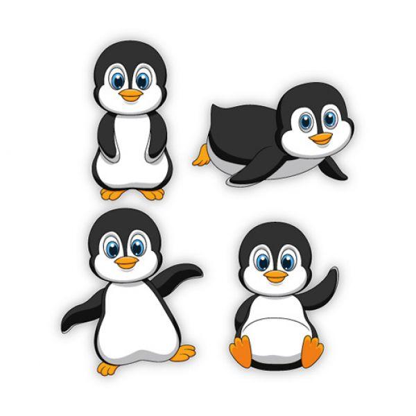 Emoji Wallpaper Cute Baby Pinguine Pinguin Wandaufkleber Wandtattoo Sticker M Amp Oum