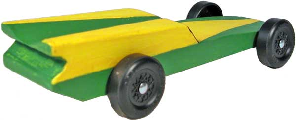 The Hornet Pinewood Derby Car Design - pinewood derby template