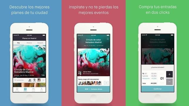 Las mejores «apps» para hacer planes con amigos - como hacer boletos para un evento