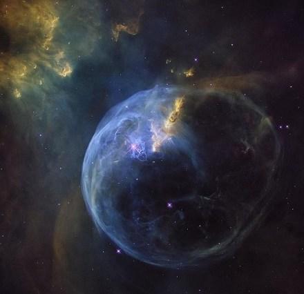 La Nebulosa de la Burbuja, también conocida como NGC 7653
