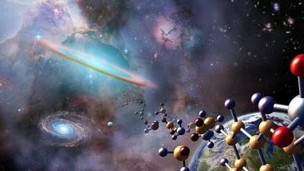 Se cree que hay posibles precursores de la vida dispersos por nubes interplanetarias, cometas y asteroides