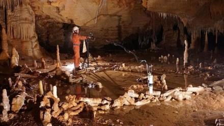 La construcción neandertal de la cueva de Bruniquel