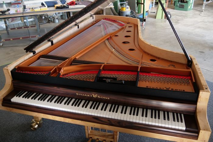 World\u0027s first 108-key concert grand piano built by Australia\u0027s only