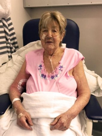 Gail Reynolds in hospital