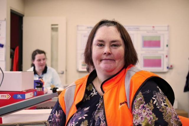 Disability worker Anita Donald