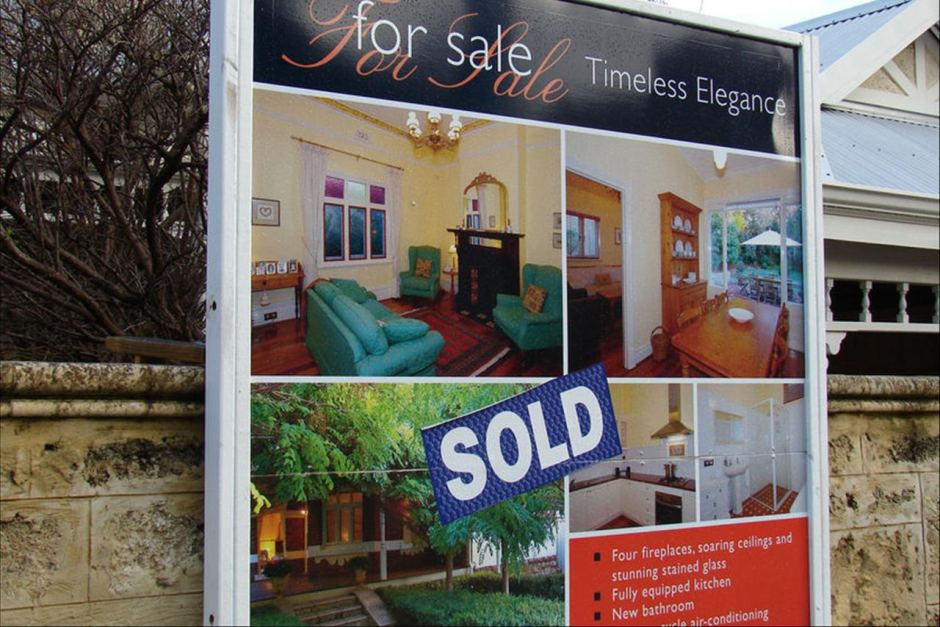 For Sale sign - ABC News (Australian Broadcasting Corporation) - forsale sign