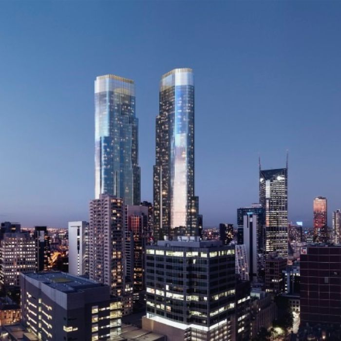 3d Weather Live Wallpaper Melbourne Cbd Development Two 79 Storey Towers Approved