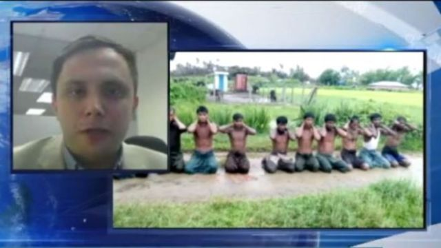 Reuters Myanmar bureau chief Antoni Slodkowsk says the news agency has uncovered a massacre of 10 Rohingya civilians.