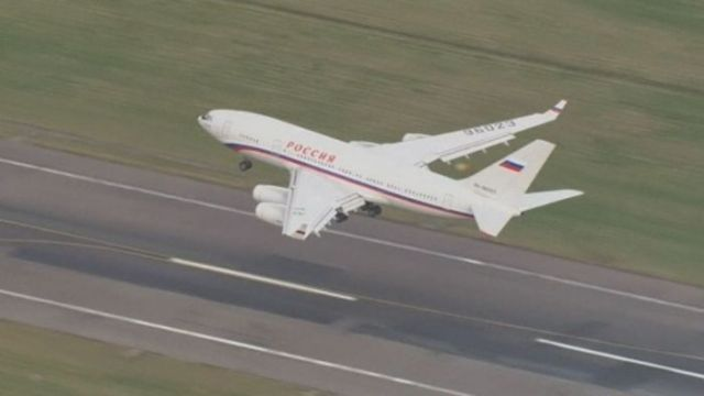 Expelled Russian diplomats leave the UK